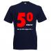 "Funshirt ""50 alweer"""