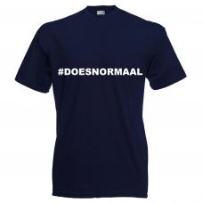 """Funshirt """"#doesnormaal"""""""