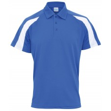 Poloshirt AWD Cool met contrasterend detail