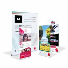 Roll-up banner budget 85 x 200 cm