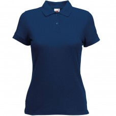 Poloshirt Fruit of the Loom Lady-fit