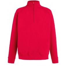 Sweatshirt Fruit of the Loom Zip neck